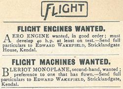 Flight Advert